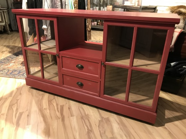 Schrank Vitrine Candy Used look Neu