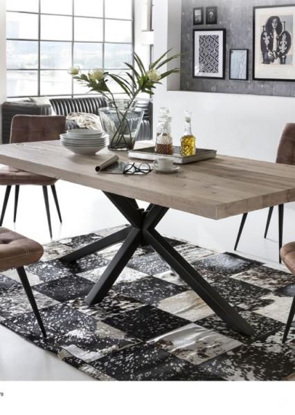 Tisch Esstisch 200x100 cm Balkeneiche massiv SIT NEU