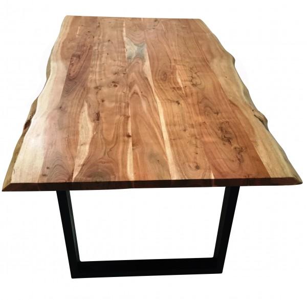 Esstisch Tisch Baumkante 180 x 90 cm Akazie massiv SIT