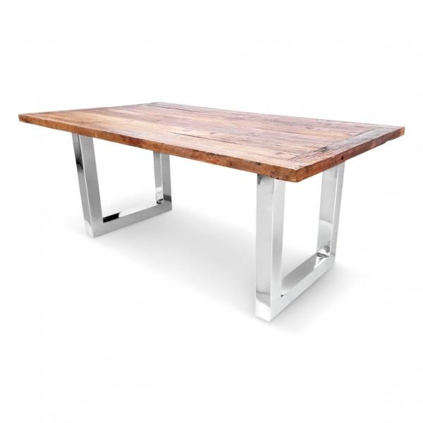 Esstisch Tisch Kent 160x90cm Altholz Massiv Industrie Design NEU