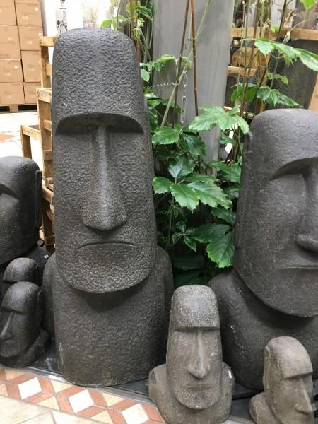 Moai Skulptur Osterinsel Kopf Figur Outdoor 200cm