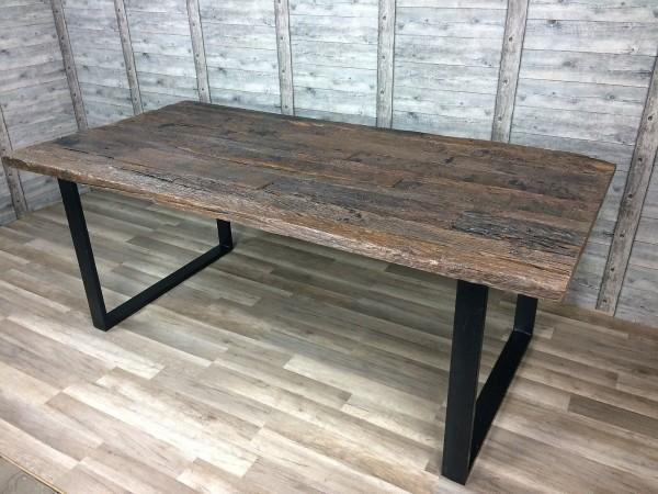 Esstisch Tisch Frisco 200x100cm recyceletes Altholz Massiv NEU Lagerware