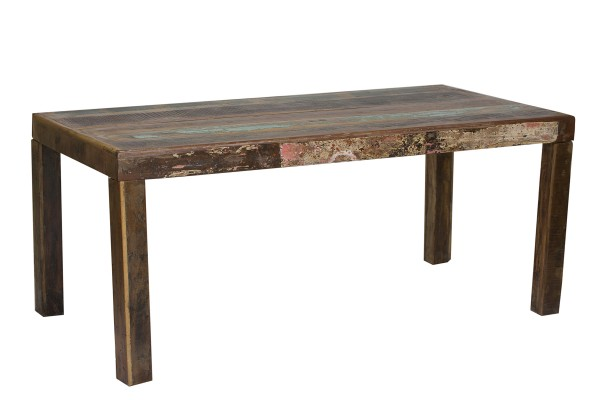 Esstisch Tisch Fridge SIT 180 x 90 cm Altholz lackiert bunt