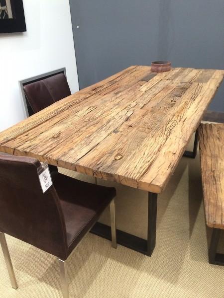 Esstisch Tisch Thar 240x100cm Altholz Massiv Neu