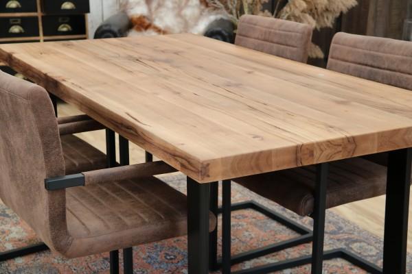 Esstisch Tisch 160x90cm Balkeneiche geölt Neu